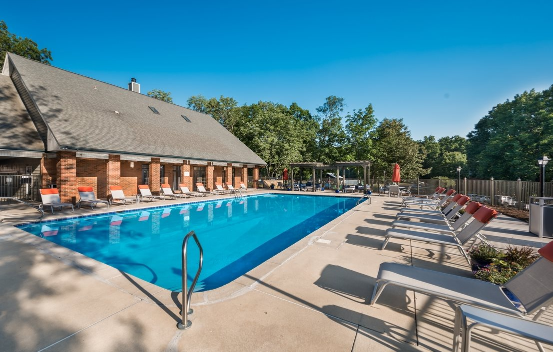 Resort Style Swimming Pool at Hawthorne at the Ridge