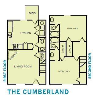 2x2.5 Cumberland Floor Plan 7