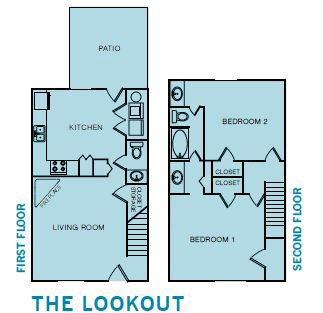 2x1.5 Lookout Rehab Floor Plan 4