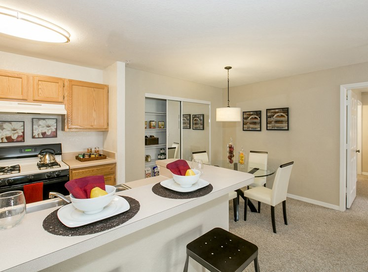 The Villages on Millenia Apartments for rent in Orlando, FL. Make this community your new home or visit other Concord Rents communities at ConcordRents.com. Kitchen