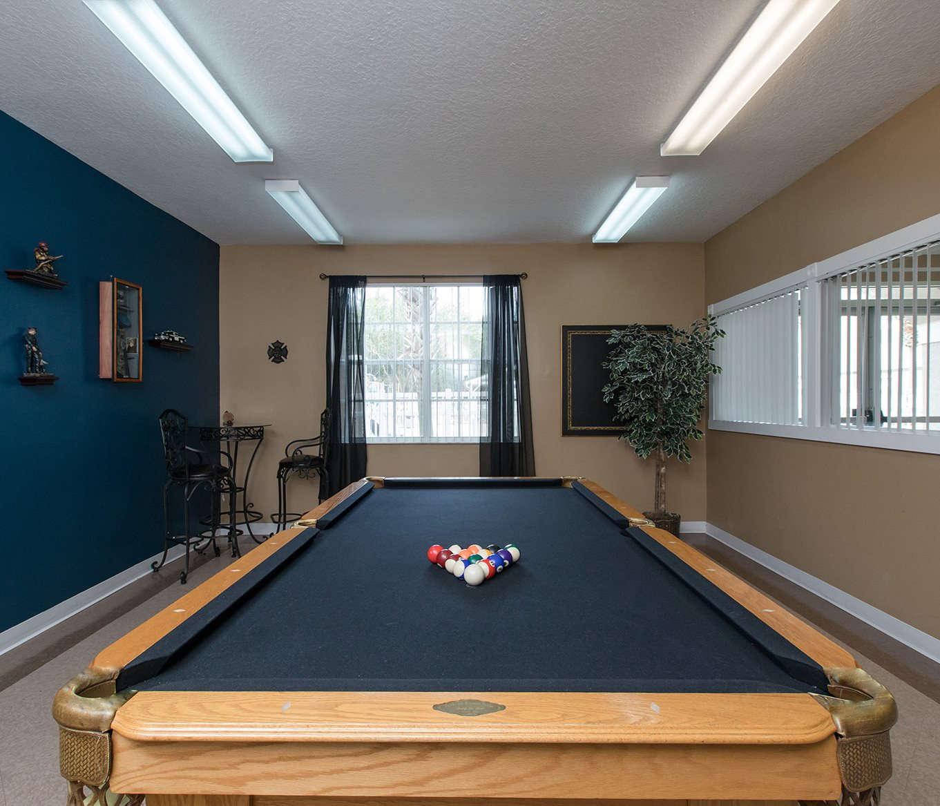 Hunters Creek Apartments for rent in Deland, FL. Make this community your new home or visit other ConcordRENTS communities at ConcordRENTS.com. Pool table