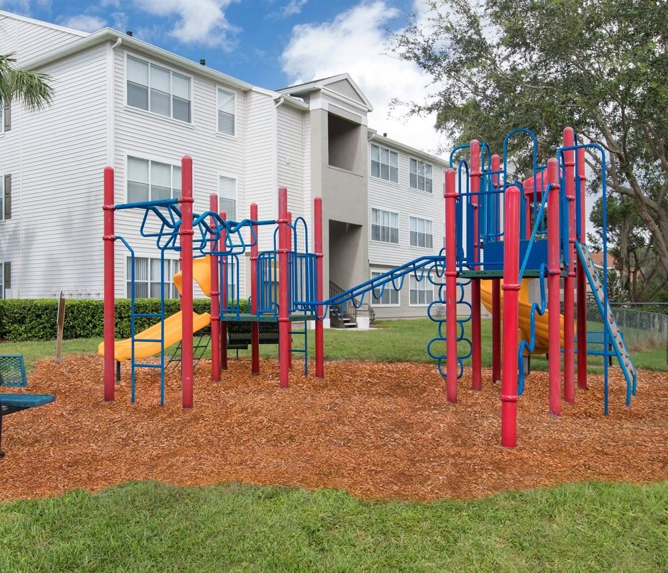 Hunters Creek Apartments for rent in Deland, FL. Make this community your new home or visit other ConcordRENTS communities at ConcordRENTS.com. Playground