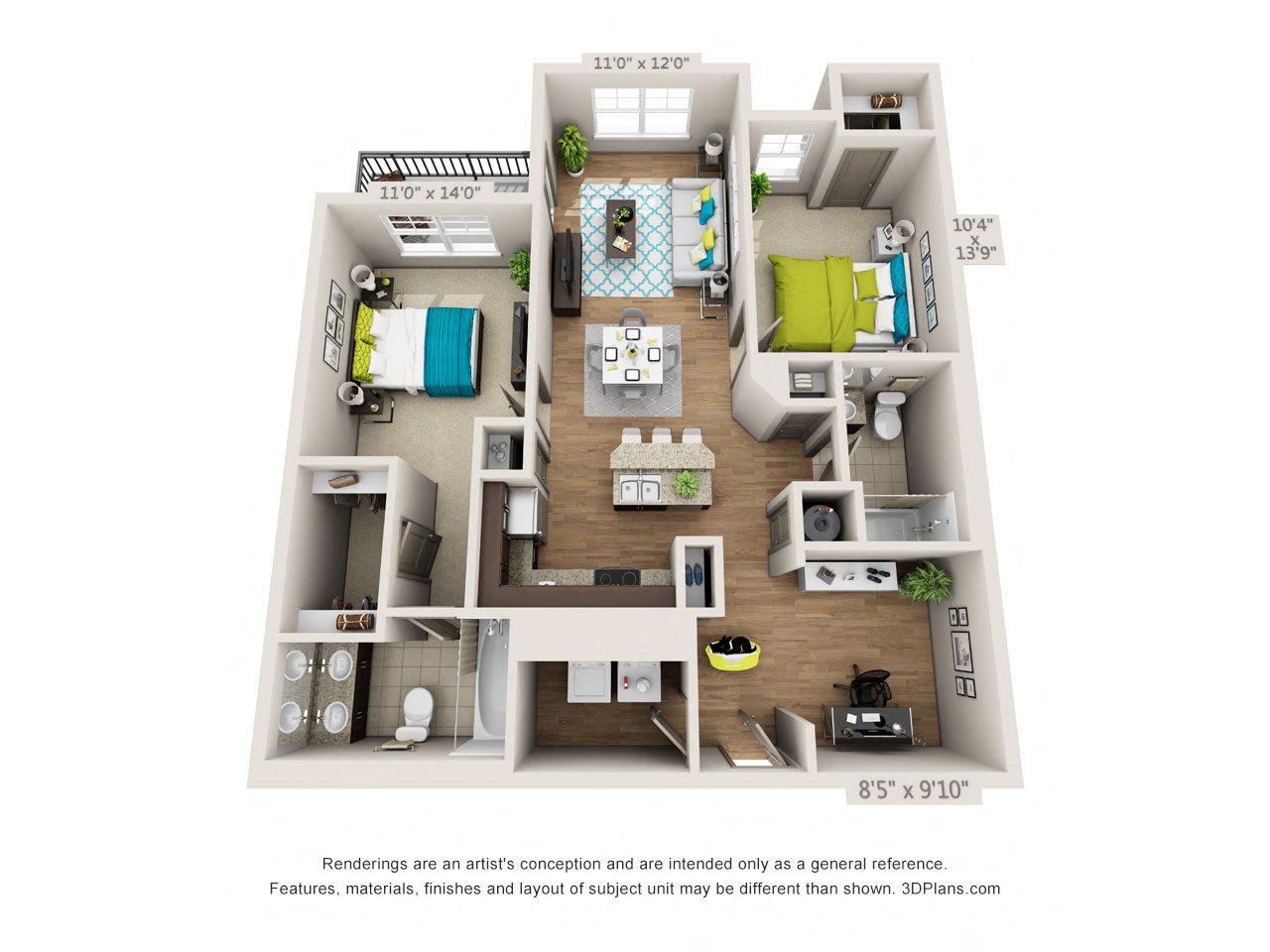 Regency Floor Plan 4