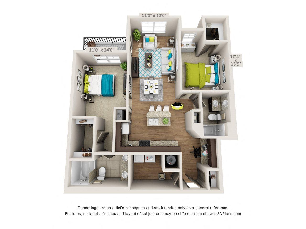 Ritz Floor Plan 3