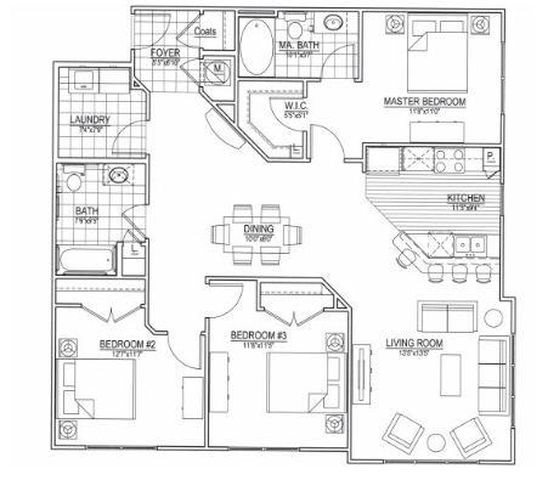 Floor Plans Of Meridian At Harrison Pointe In Cary, NC