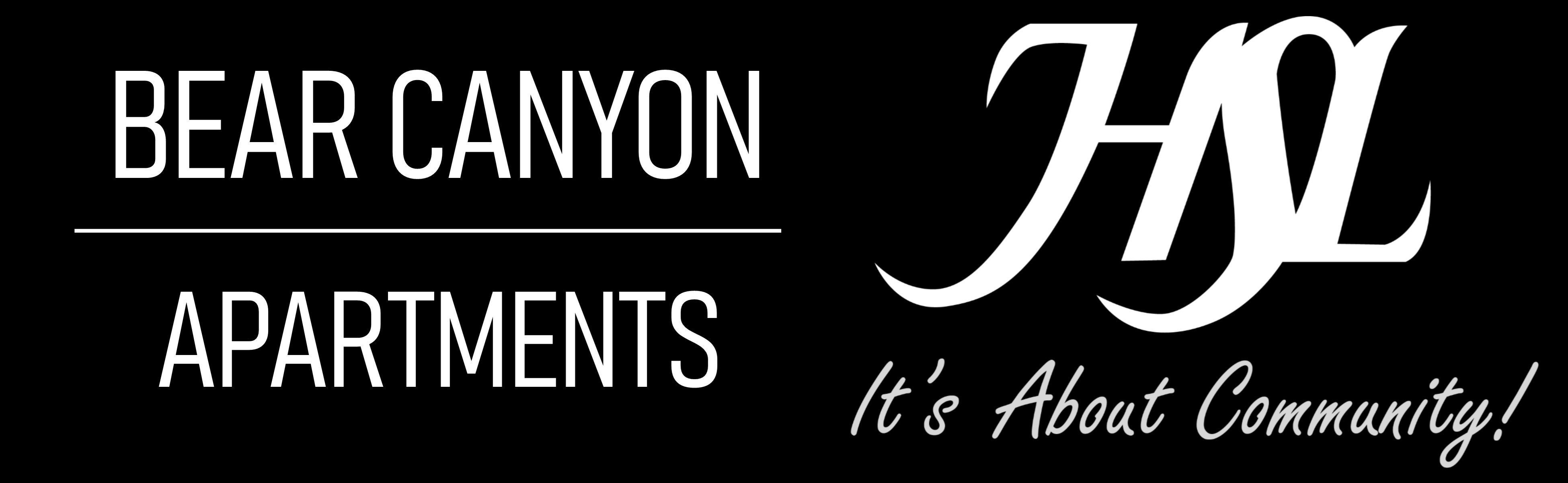 Bear Canyon Apartments Logo