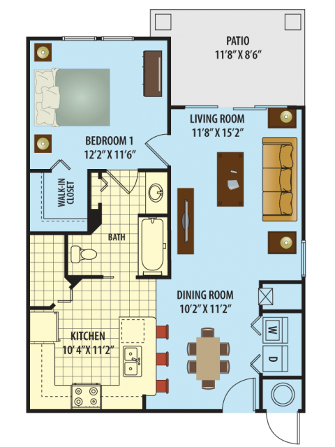 Crescent Floor Plan 1
