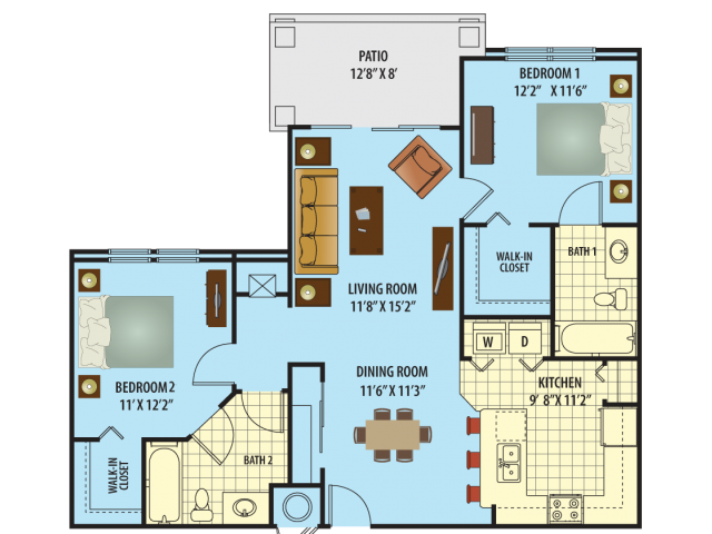 Campbell Floor Plan 2