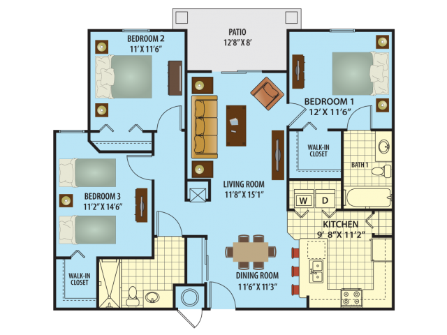 Salvador Floor Plan 3