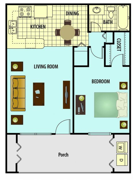 Cypress Floor Plan 1