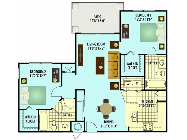 Mulberry Floor Plan 4