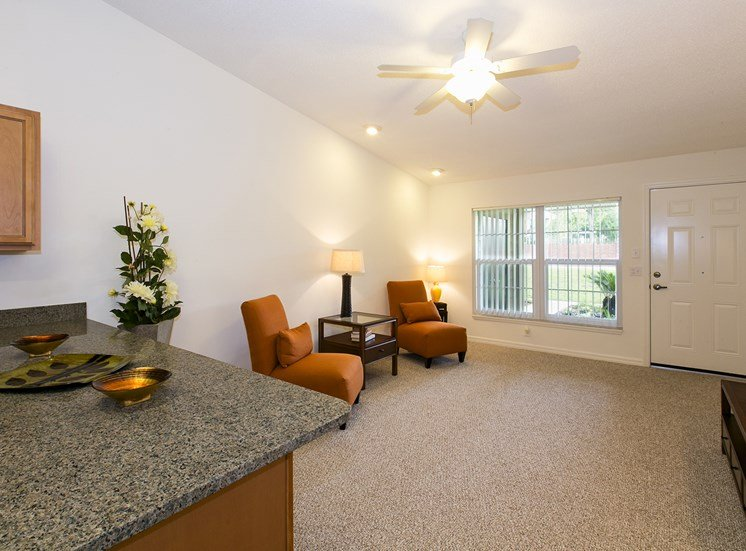 Richey Woods Senior Living Apartments for rent in New Port Richey, FL. Make this community your new home or visit other Concord Rents communities at ConcordRents.com. Living room