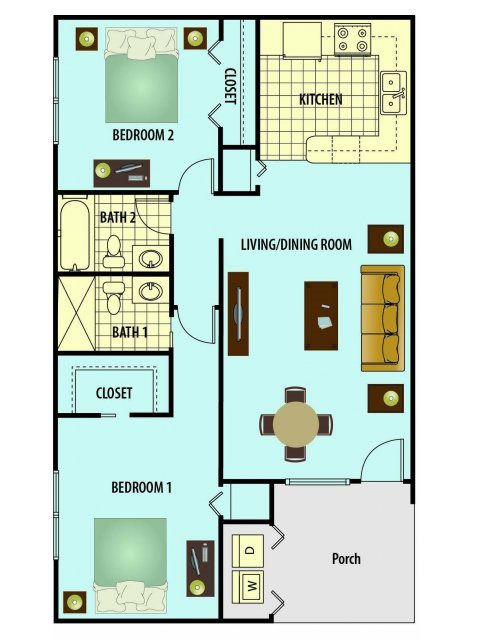 Sawgrass Floor Plan 3