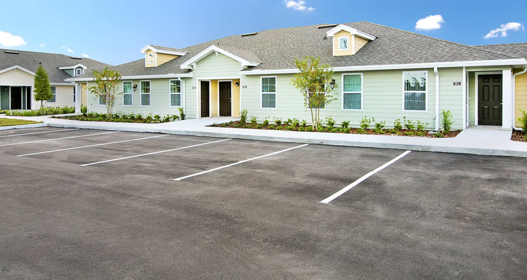 Saxon Cove Senior Living Apartments for rent in DeBary, FL. Make this community your new home or visit other Concord Rents communities at ConcordRents.com. Building exterior