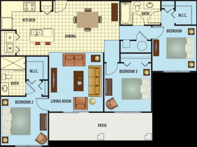 Harvest Floor Plan 5