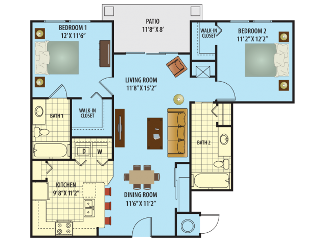 Seminole Floor Plan 1