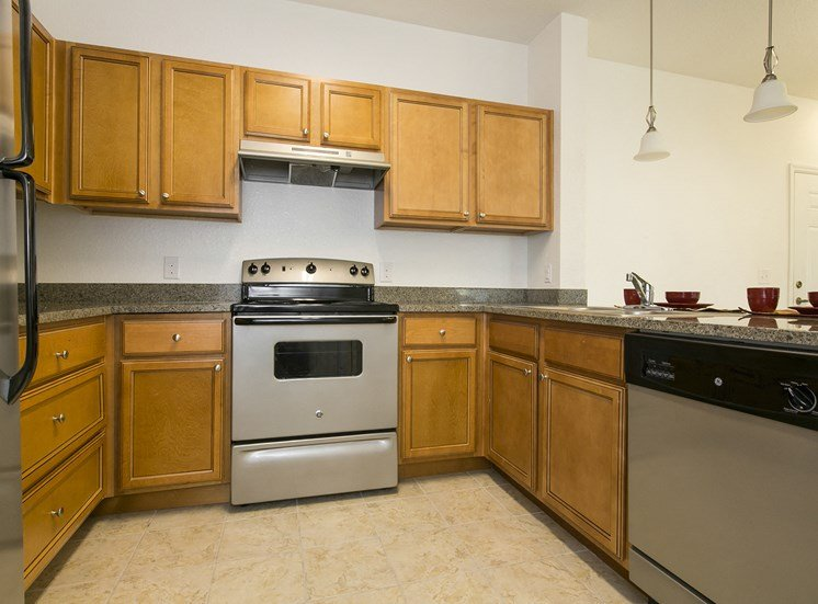 Urban Landings Apartments for rent in St. Petersburg, FL. Make this community your new home or visit other ConcordRENTS communities at ConcordRENTS.com. Kitchen