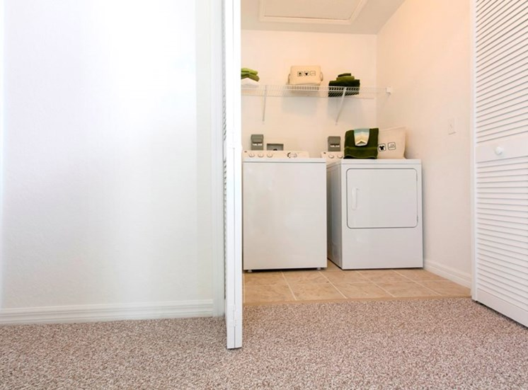 Reserve at Brookhaven Apartments for rent in Palm Coast, FL. Make this community your new home or visit other Concord Rents communities at ConcordRents.com. Laundry room