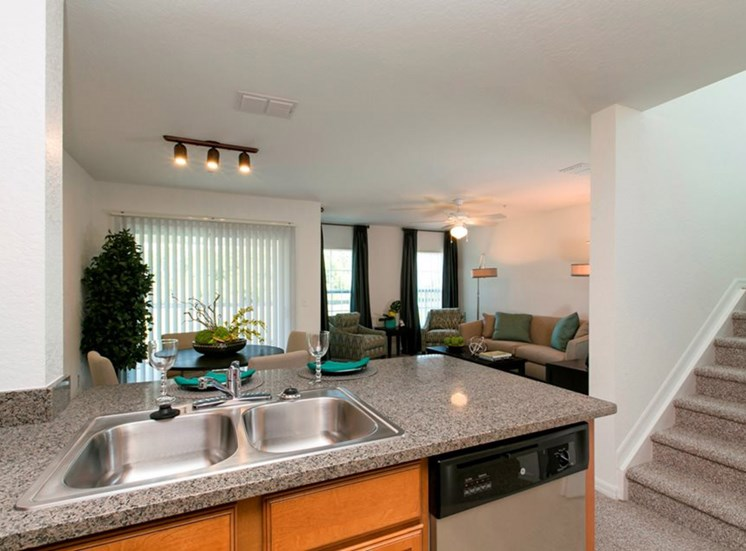 Reserve at Brookhaven Apartments for rent in Palm Coast, FL. Make this community your new home or visit other Concord Rents communities at ConcordRents.com. Kitchen