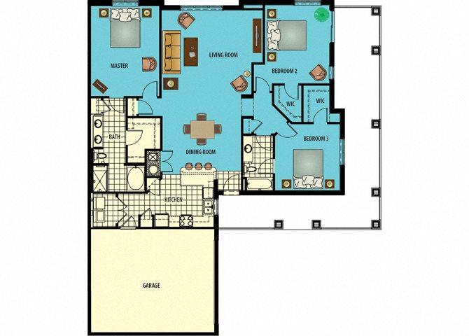 Banyon Floor Plan 4