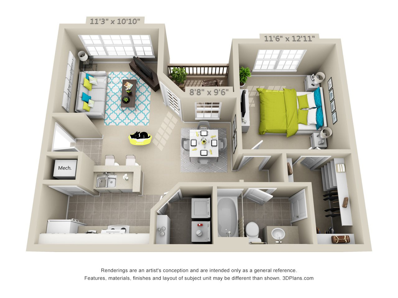 Appalachian Floor Plan 3