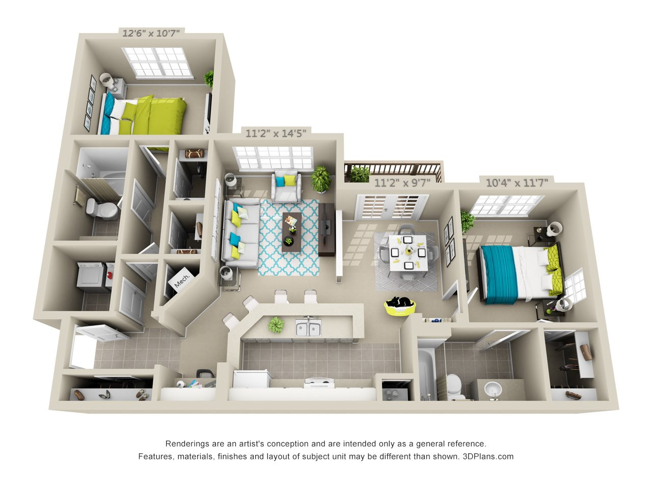 Big Bend Floor Plan 4