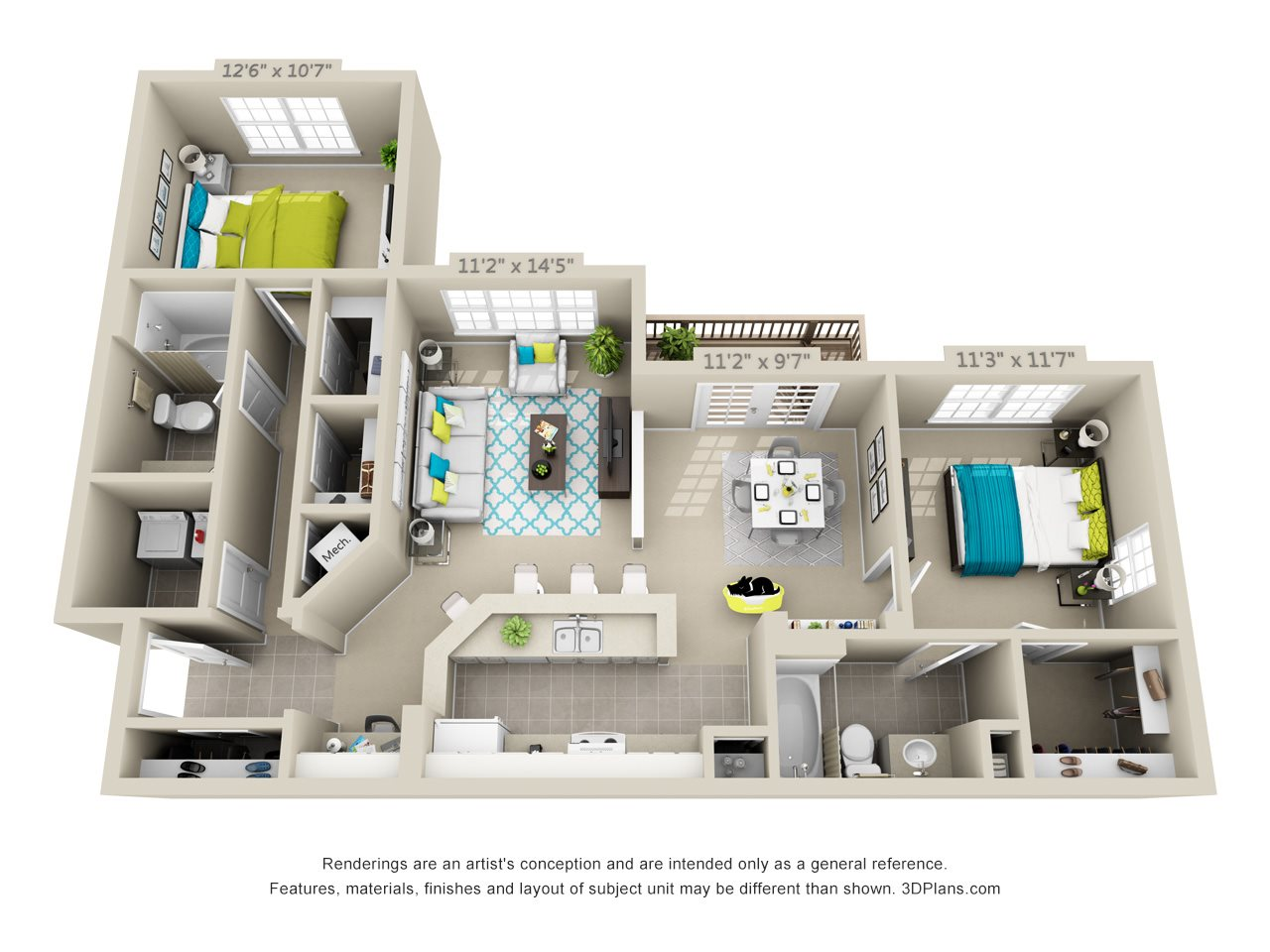 Biscayne Floor Plan 5
