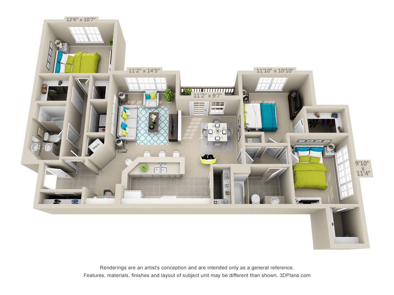 Carlsbad Floor Plan 7
