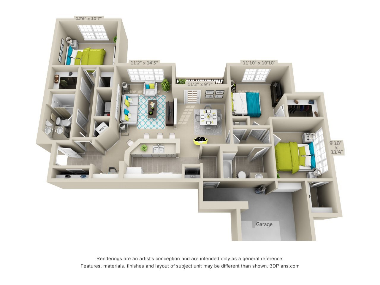 Chatahoochee Floor Plan 8