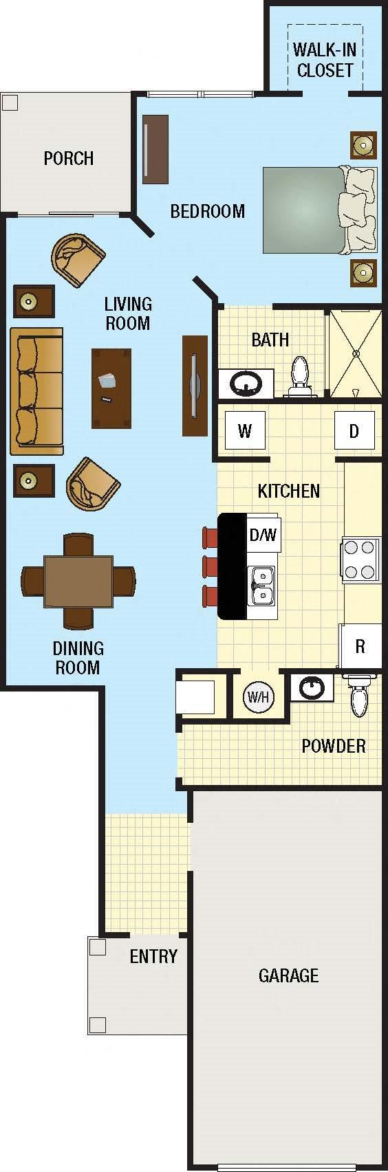 Jade Floor Plan, Concord Rents - Michael Sciarrino Concord Mangement