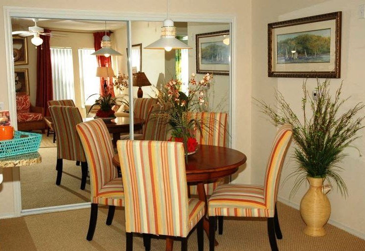 Enterprise Cove Condos for rent in Orange City, FL. Make this community your new home or visit other Concord Rents communities at ConcordRents.com. Dining room