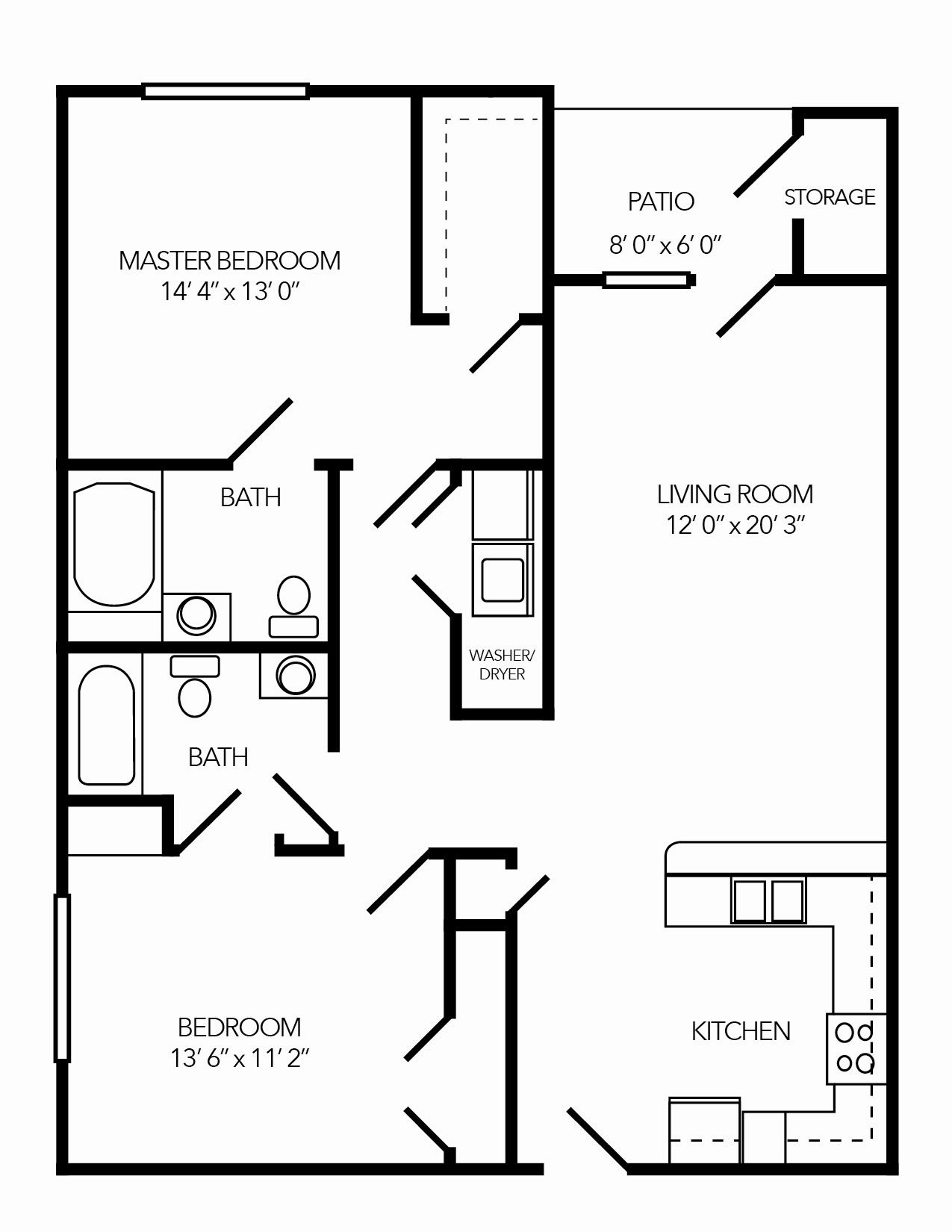 The Bluewater Floor Plan 2