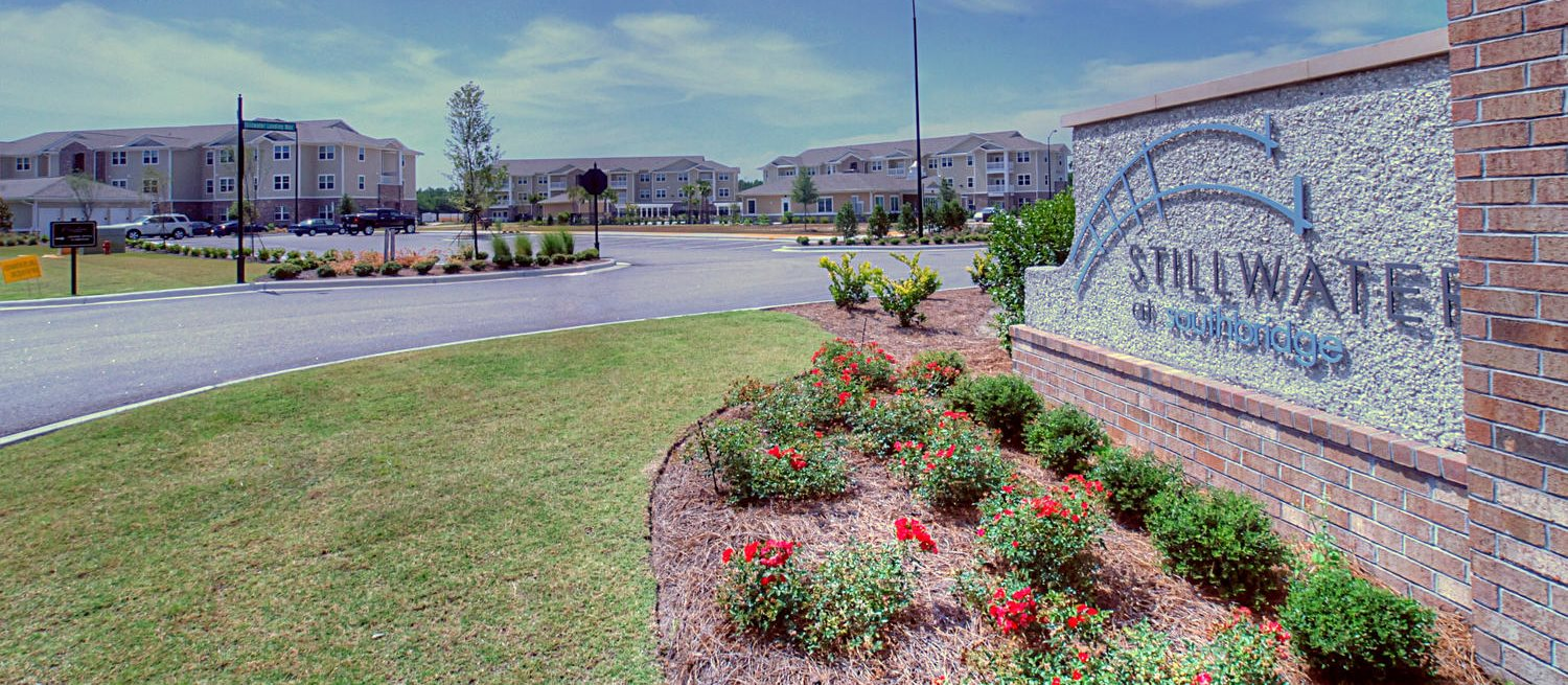Property Signage for Stillwater at Southbridge Apartments in Snead's Ferry North Carolina