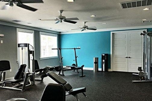 Fitness Center at Stillwater at Southbridge Apartments, Sneads Ferry, North Carolina