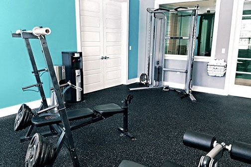 Fitness Center at Stillwater at Southridge Apartments, Sneads Ferry, North Carolina