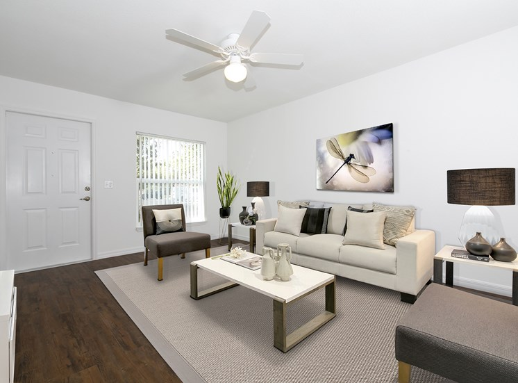 The Hammock at Stuart Apartments for rent in Stuart, FL. Make this community your new home or visit other ConcordRENTS communities at ConcordRENTS.com. Living room