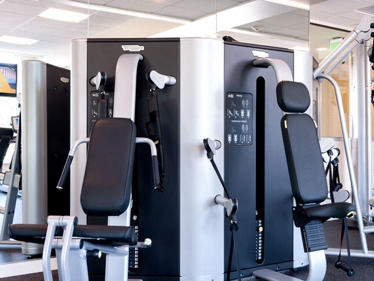 Fitness Center at Innova Apartments in University Circle neighborhood of Cleveland, OH