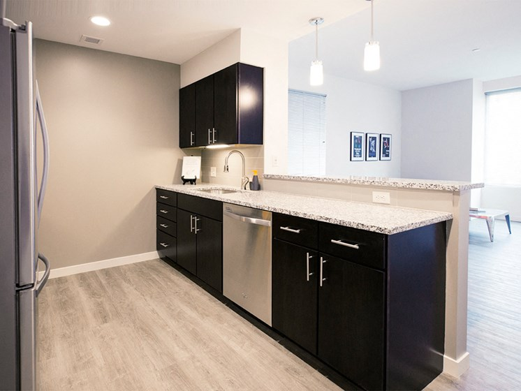 Spacious Floor Plans at Innova Apartments in University Circle neighborhood of Cleveland, OH