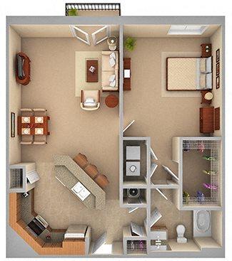 1-B (PHASE 1) Floor Plan 2