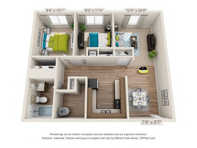 The Glen Floor Plan 3