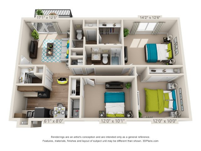 The Grove Floor Plan 7