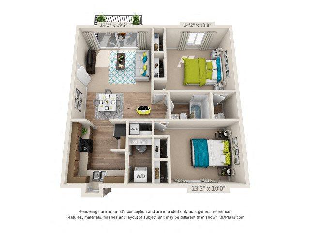 The Spring Floor Plan 4