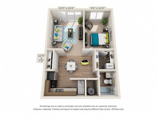 The Cove Floor Plan 1