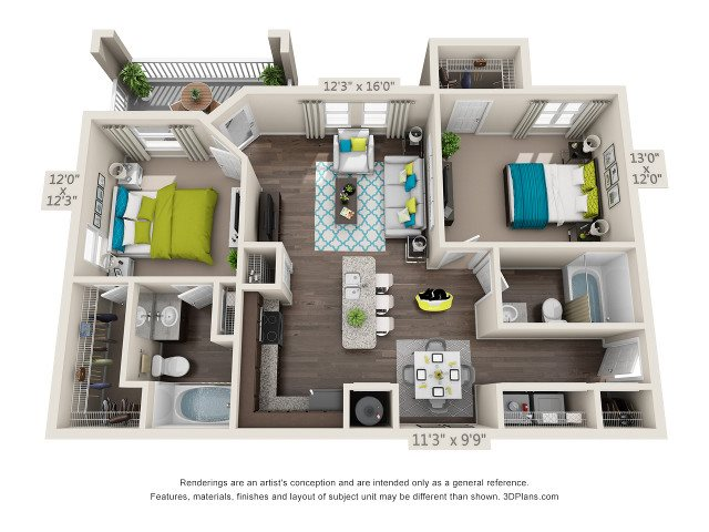 Lakeside Floor Plan 12