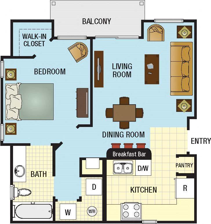 Rent For A 2 Bedroom Apartment: Grove Park Apartments