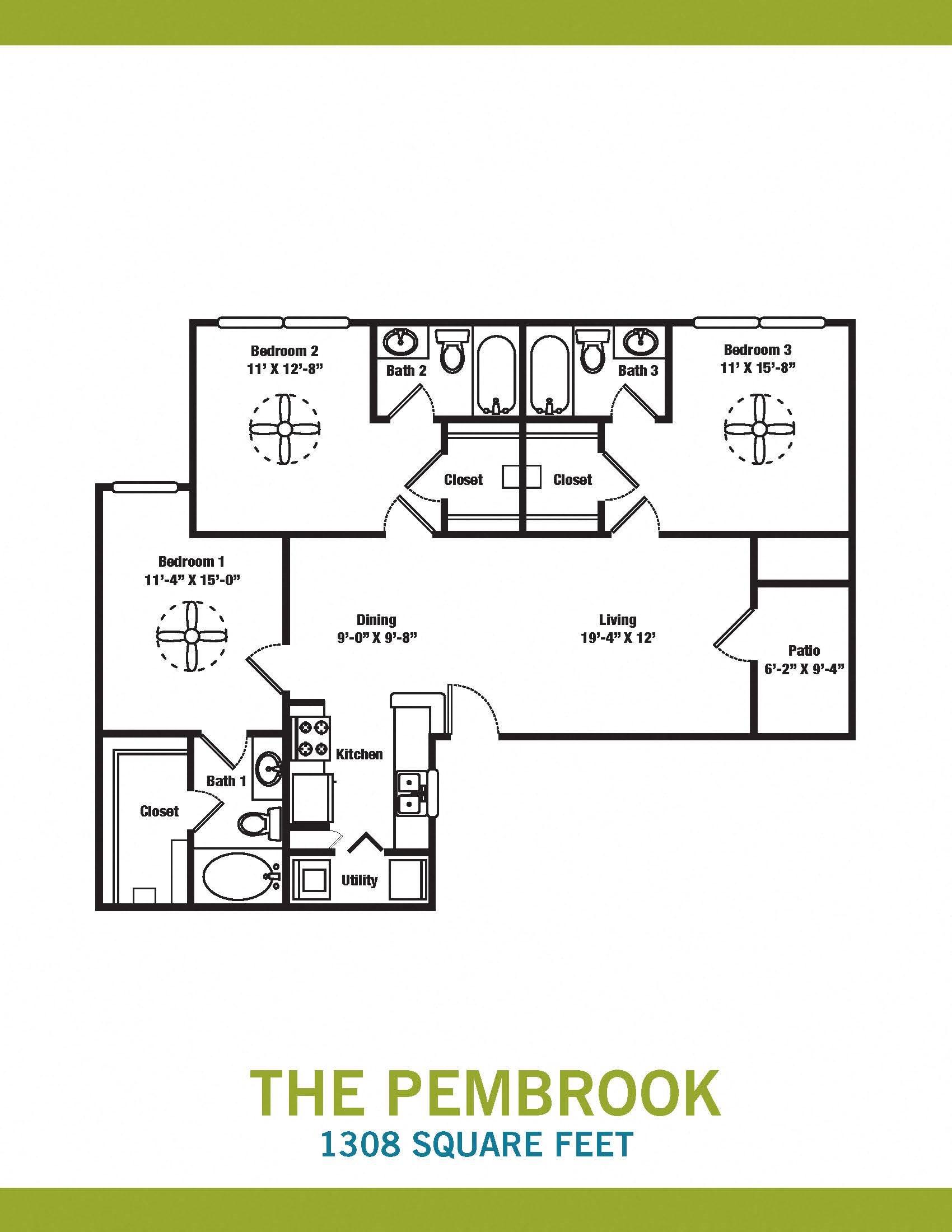 The Pembrook Floor Plan 8