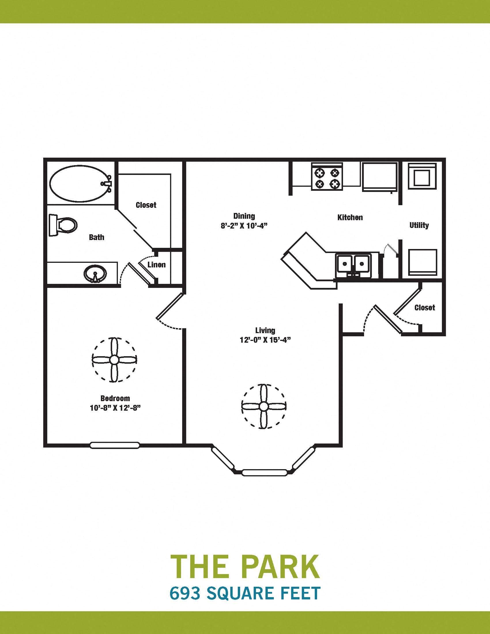 The Park Floor Plan 1