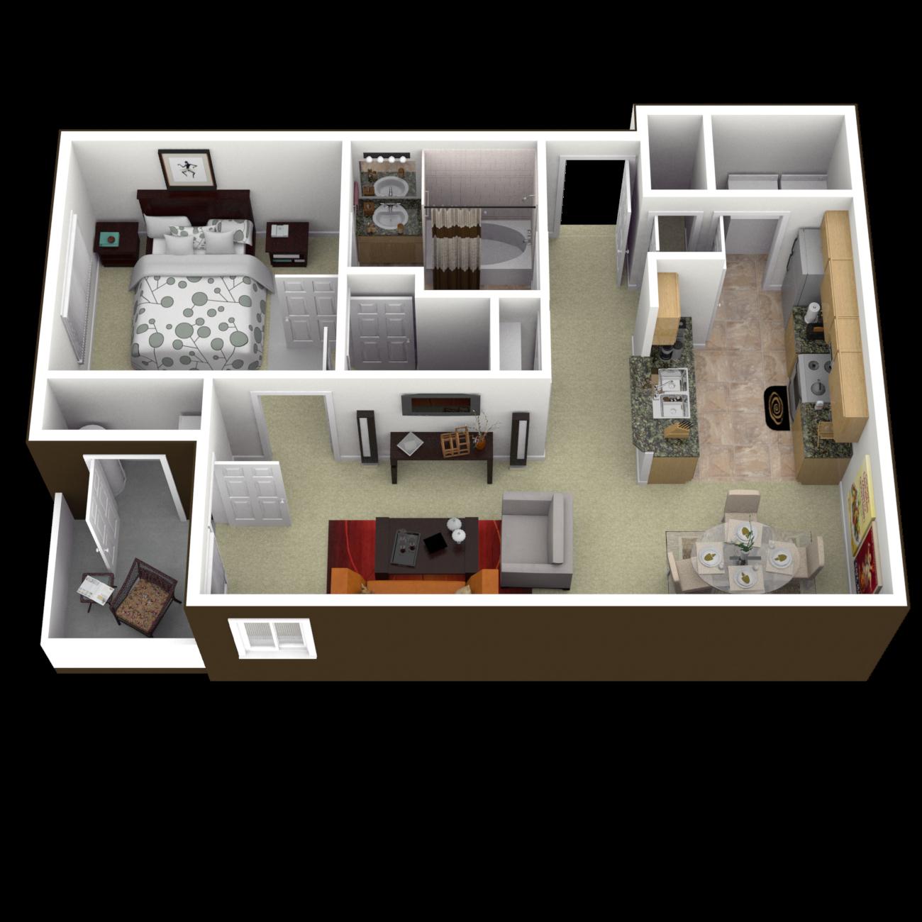 The Lynnhaven Floor Plan 2