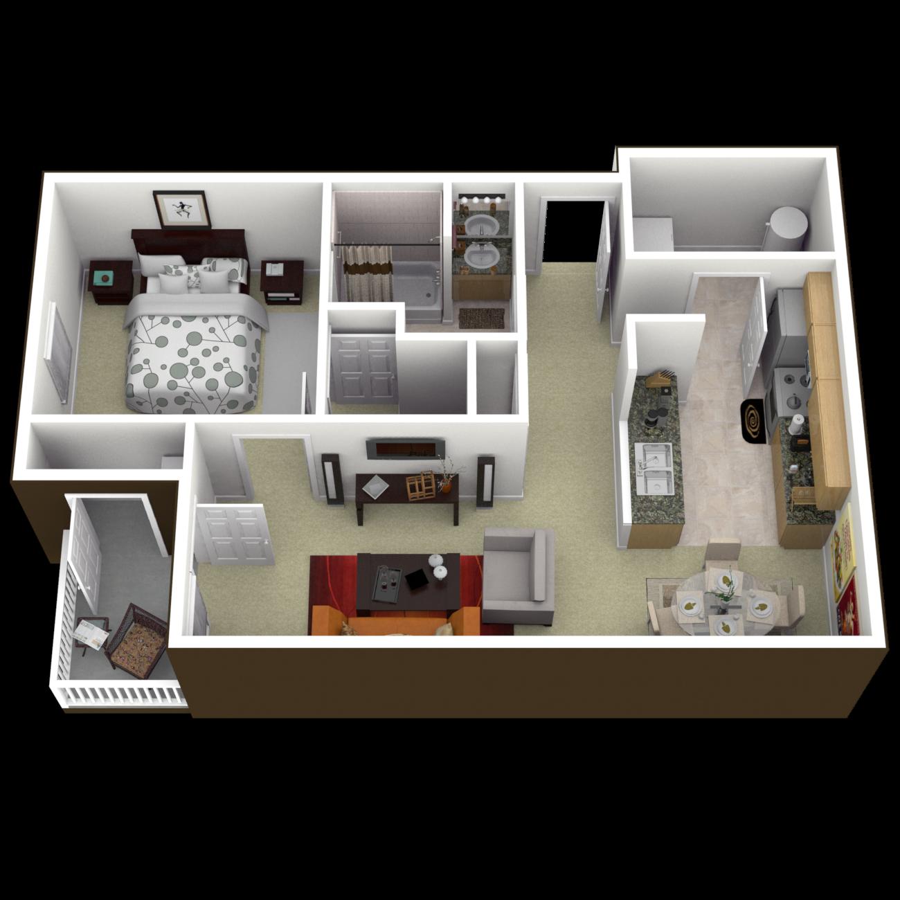 The Jamestown Floor Plan 1