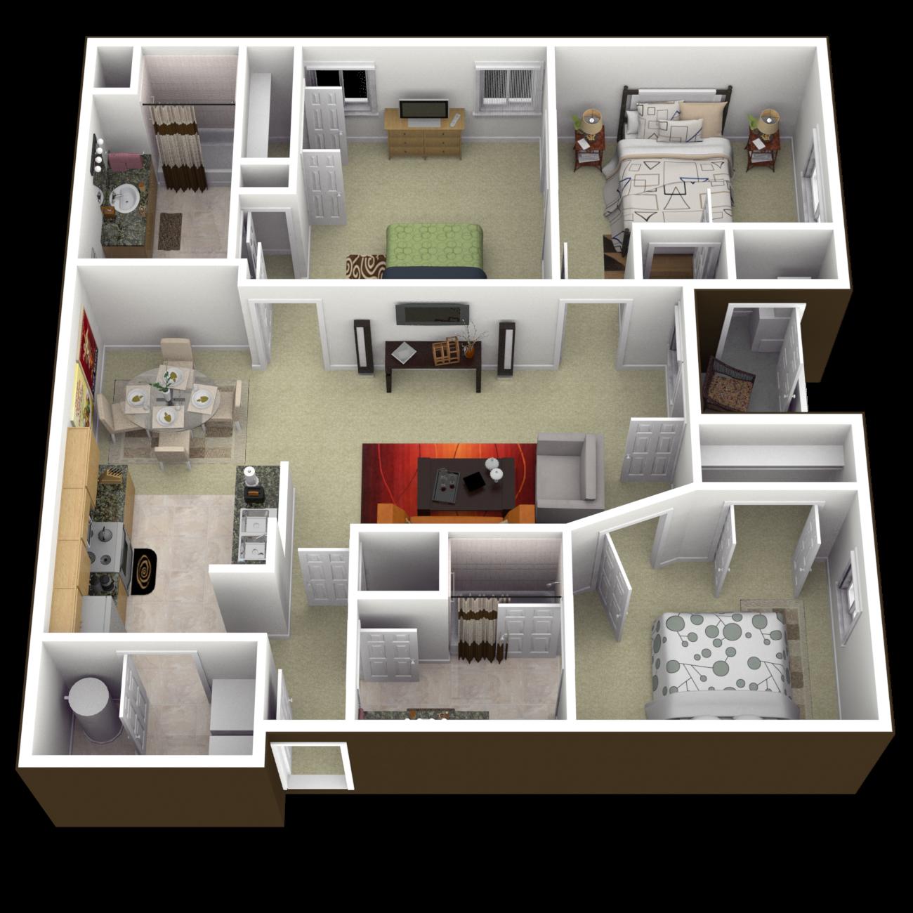 The Williamsburg Floor Plan 6